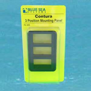 Contura Switch Mounting Plate - Three
