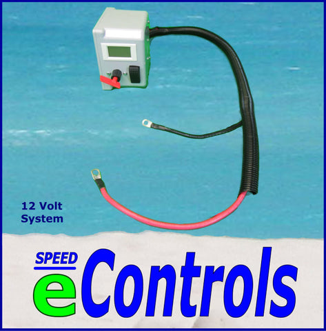 12 Volt  -  3' Power Cables SPEED eControls