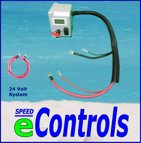 24 Volt  -  3' Power Cables SPEED eControls