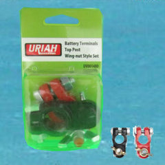 Battery Terminal Clamp - Black & Red