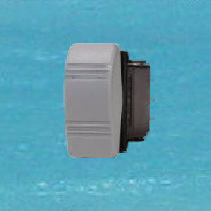 Rocker Switch Grey - Constant Off / On SPST