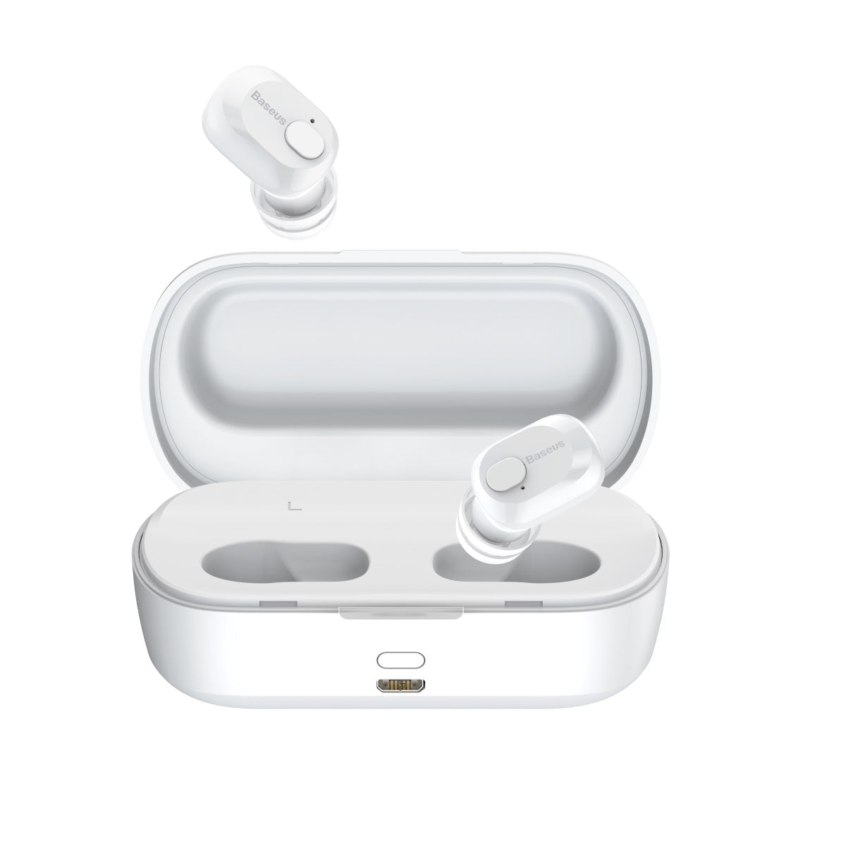 Baseus Encok True Wireless Earphones for iphone W01 White
