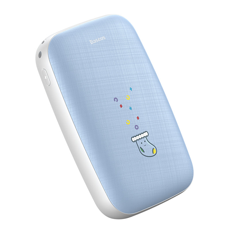 Baseus Mini Q Hand Warmer Power Bank 10000mAh Blue