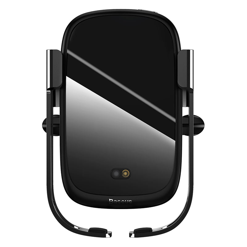Baseus Rock-solid Electric Holder Wireless charger Black