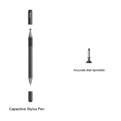 Baseus Golden Cudgel Capacitive Stylus Pen Black - TechBeans Inc.