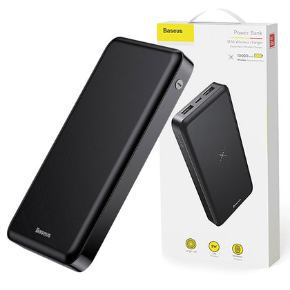 Baseus M36 Wireless Charger Powerbank 10000mAh Black