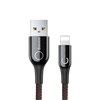 Baseus Cafule Cable(special edition)USB For iP 2.4A 1M Grey+Black