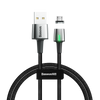 Baseus Zinc Magnetic USB Cable For iPhone 2.4A 1m Black