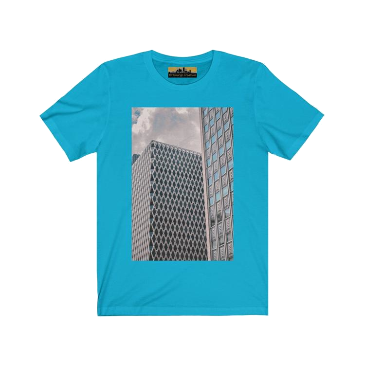 Men's Jersey Short Sleeve Pittsburgh Skyscraper Tee - Pittsburgh Creations