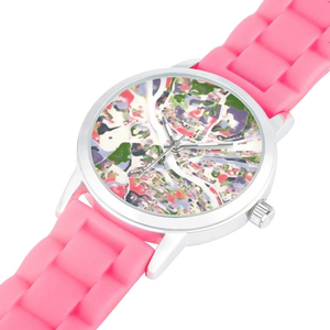 Women's Colorful Pittsburgh Map Watch - Pittsburgh Creations