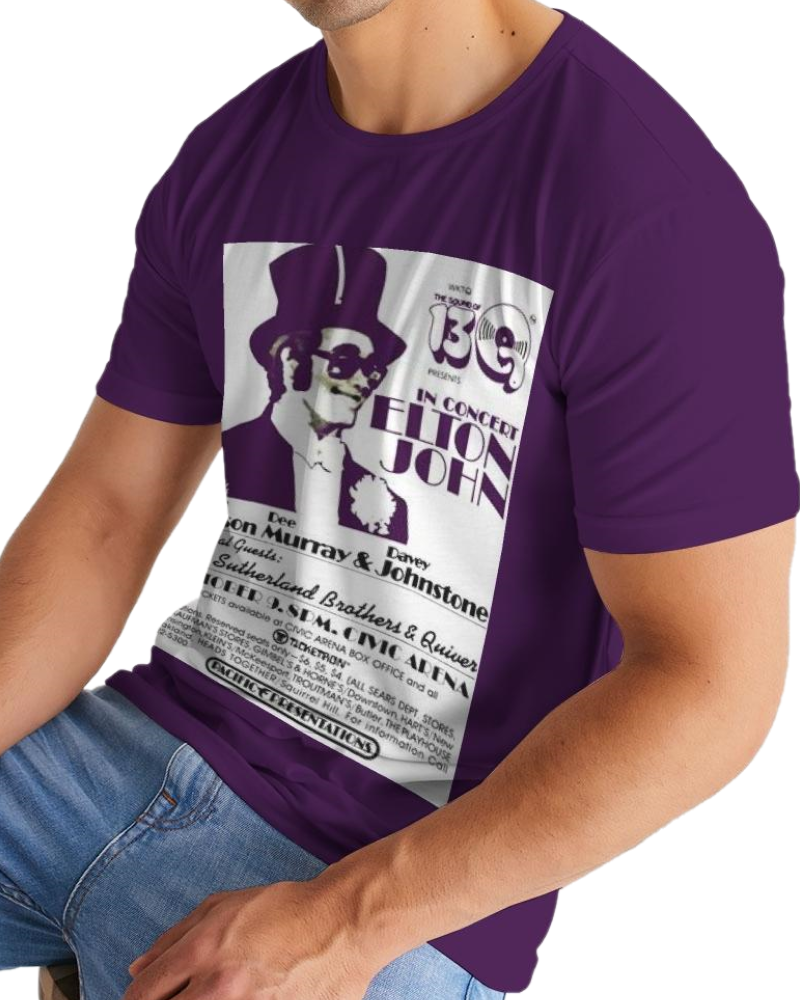 Men's Elton John Concert Tee - Pittsburgh Creations