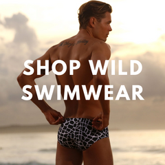 Link to Cocksox Wild Collection swimwear range