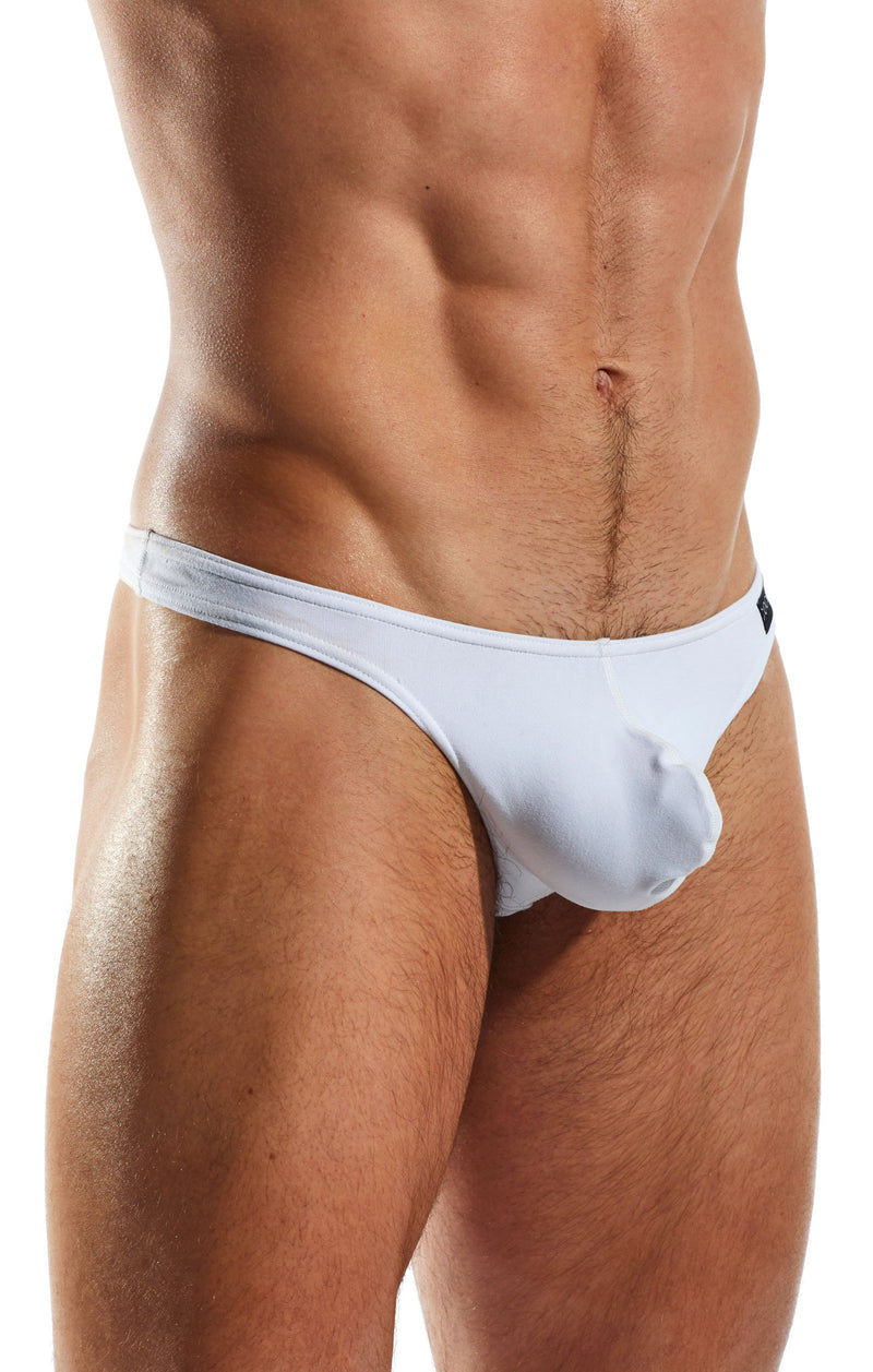Cocksox CX05 Underwear Thong in Polo White side body image