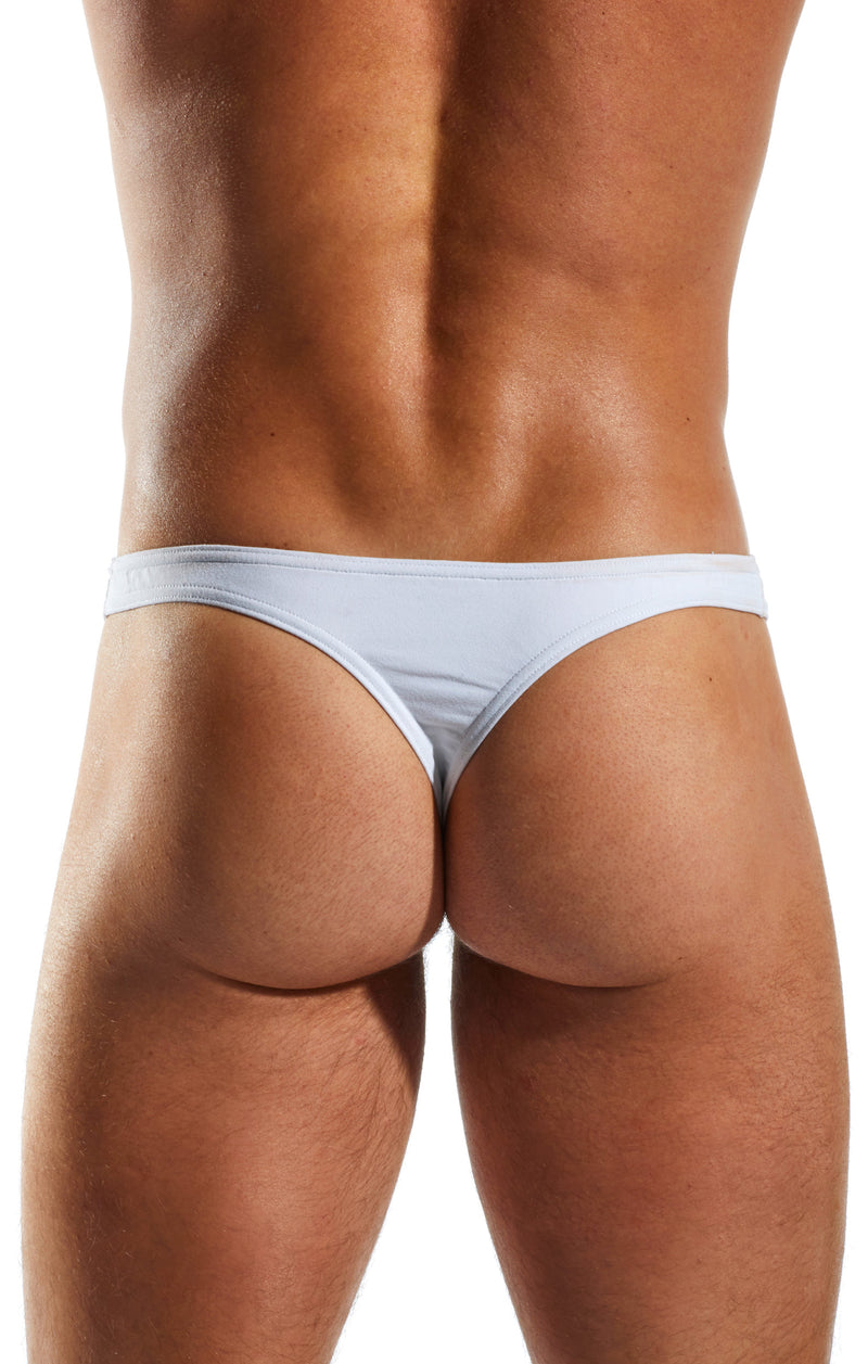 Cocksox CX05 Underwear Thong in Polo White back body image