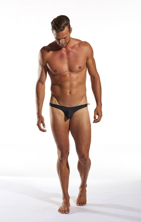 Cocksox CX02 Swimwear Brief in Jet Black full body image
