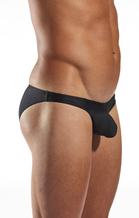 Cocksox CX02 Swimwear Brief in Jet Black side body image