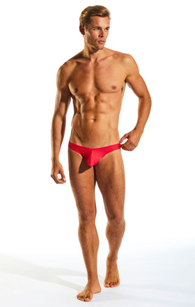 Cocksox CX02 Swimwear Brief in Watermelon full body image