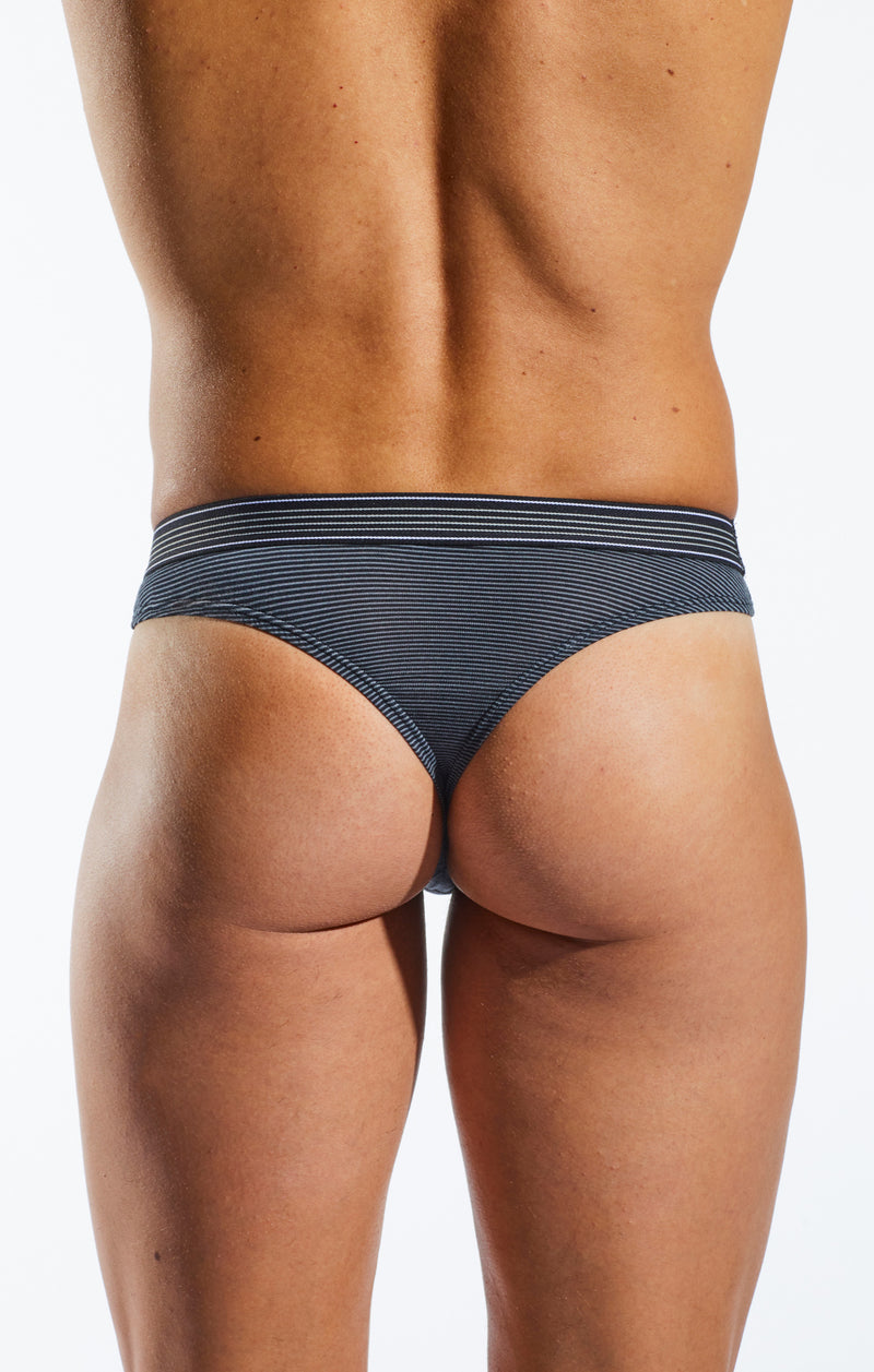 Cocksox CX05PRO Underwear Thong in Banker back body image