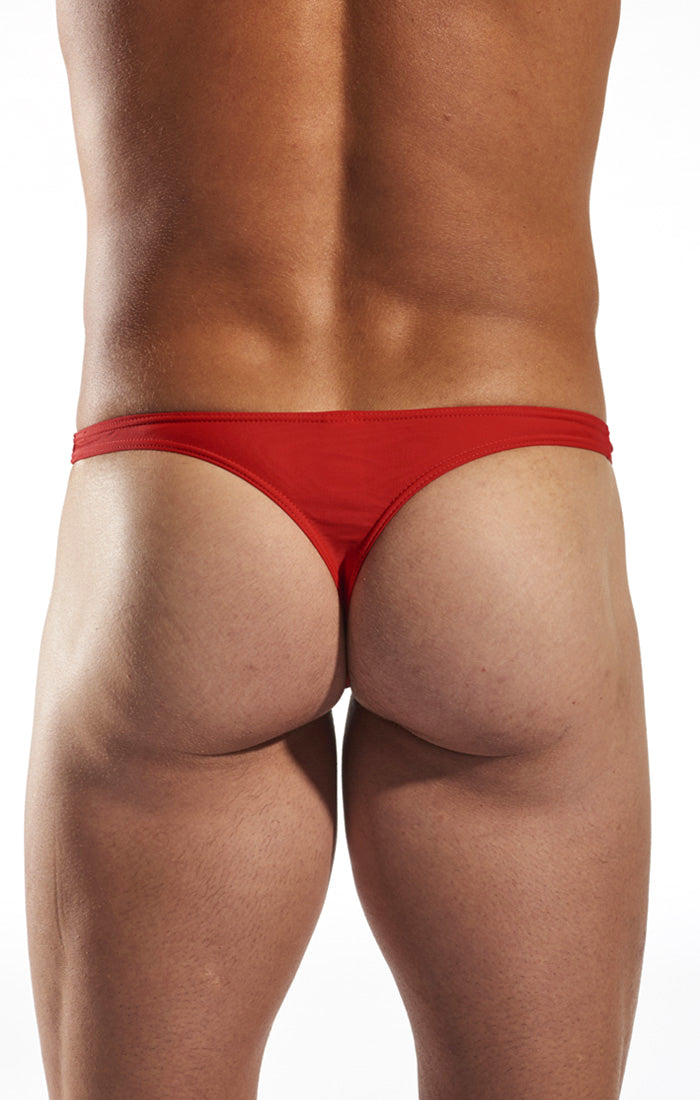 Cocksox CX22 Swimwear Thong in Code Red back body image