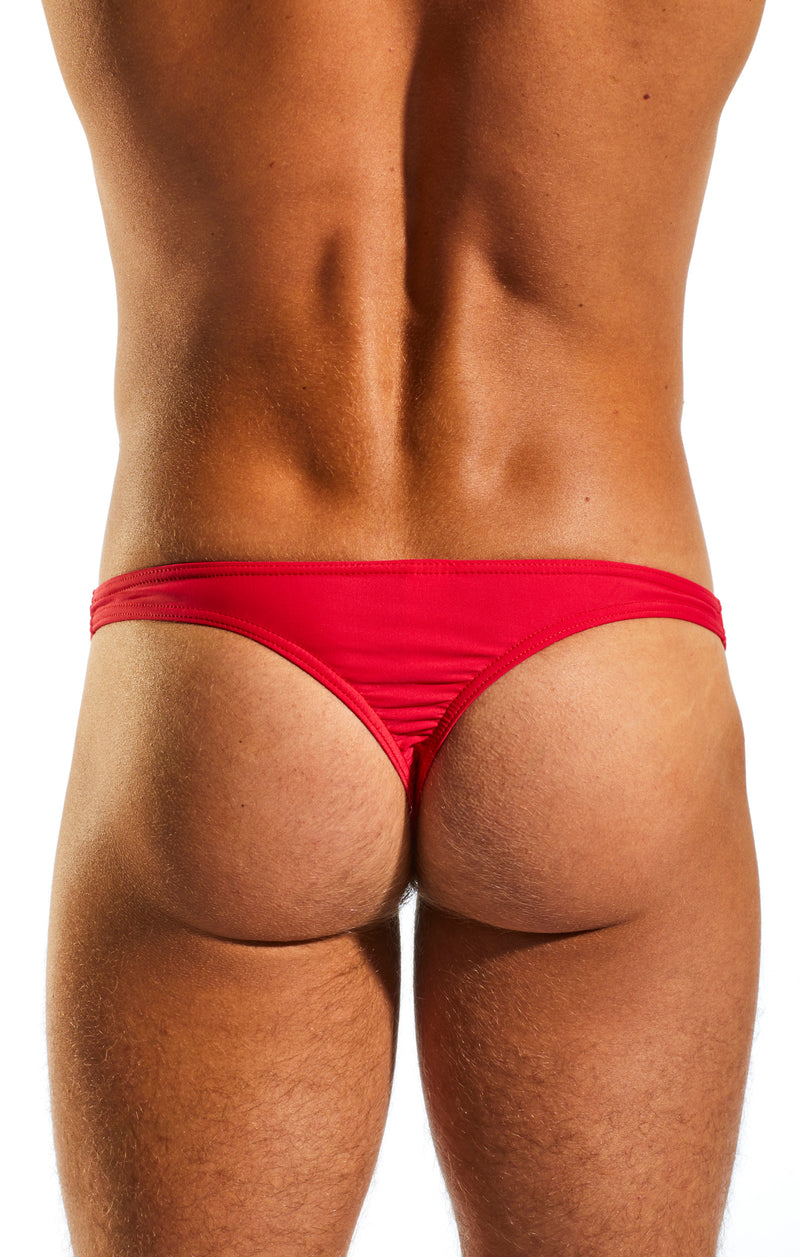 Cocksox CX22 Swimwear Thong in Watermelon back body image