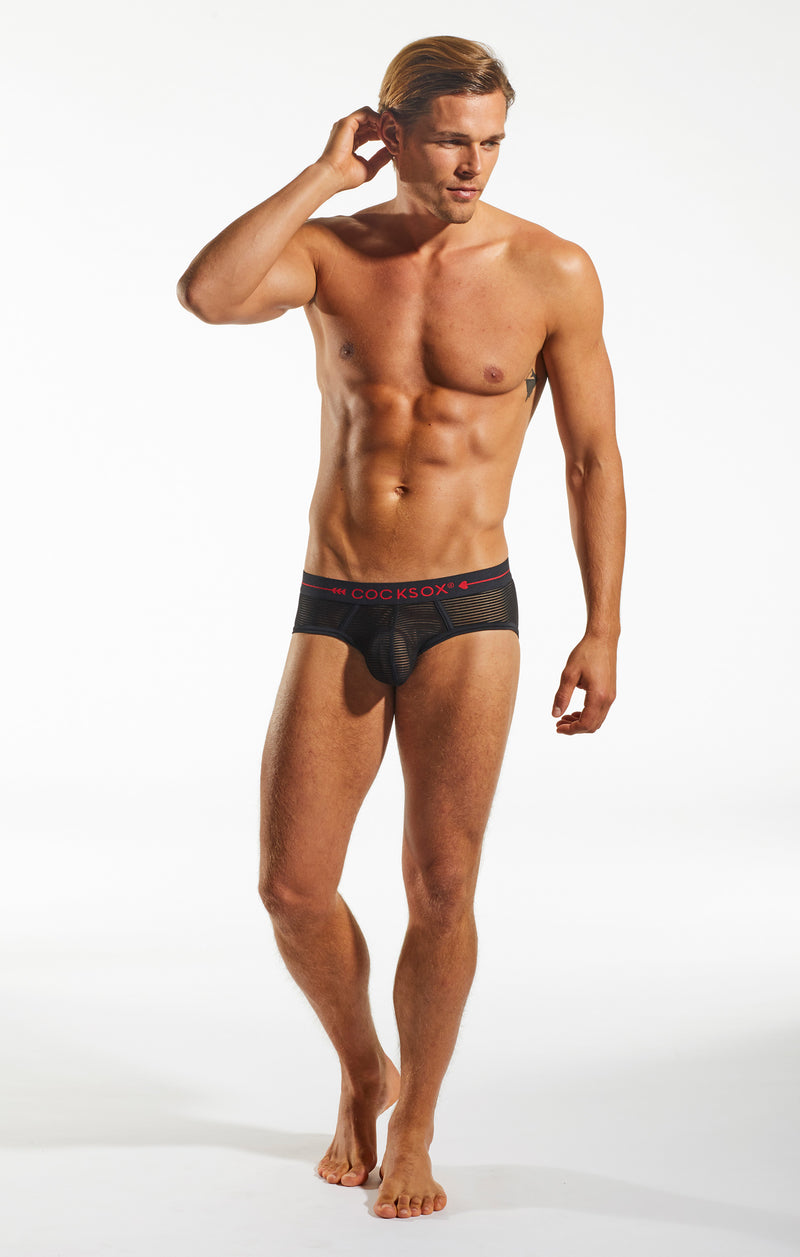 CX76SH Sheer Sports Brief