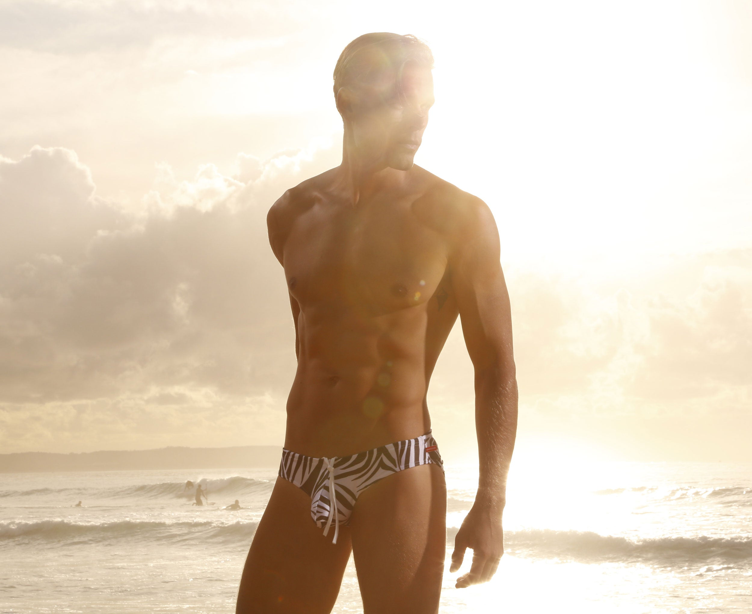 CX04PR Drawstring Swim Brief