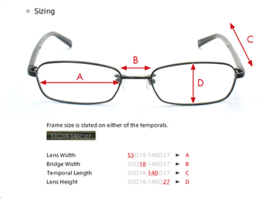 Memory Metal MM1003B-0S Eyeglasses
