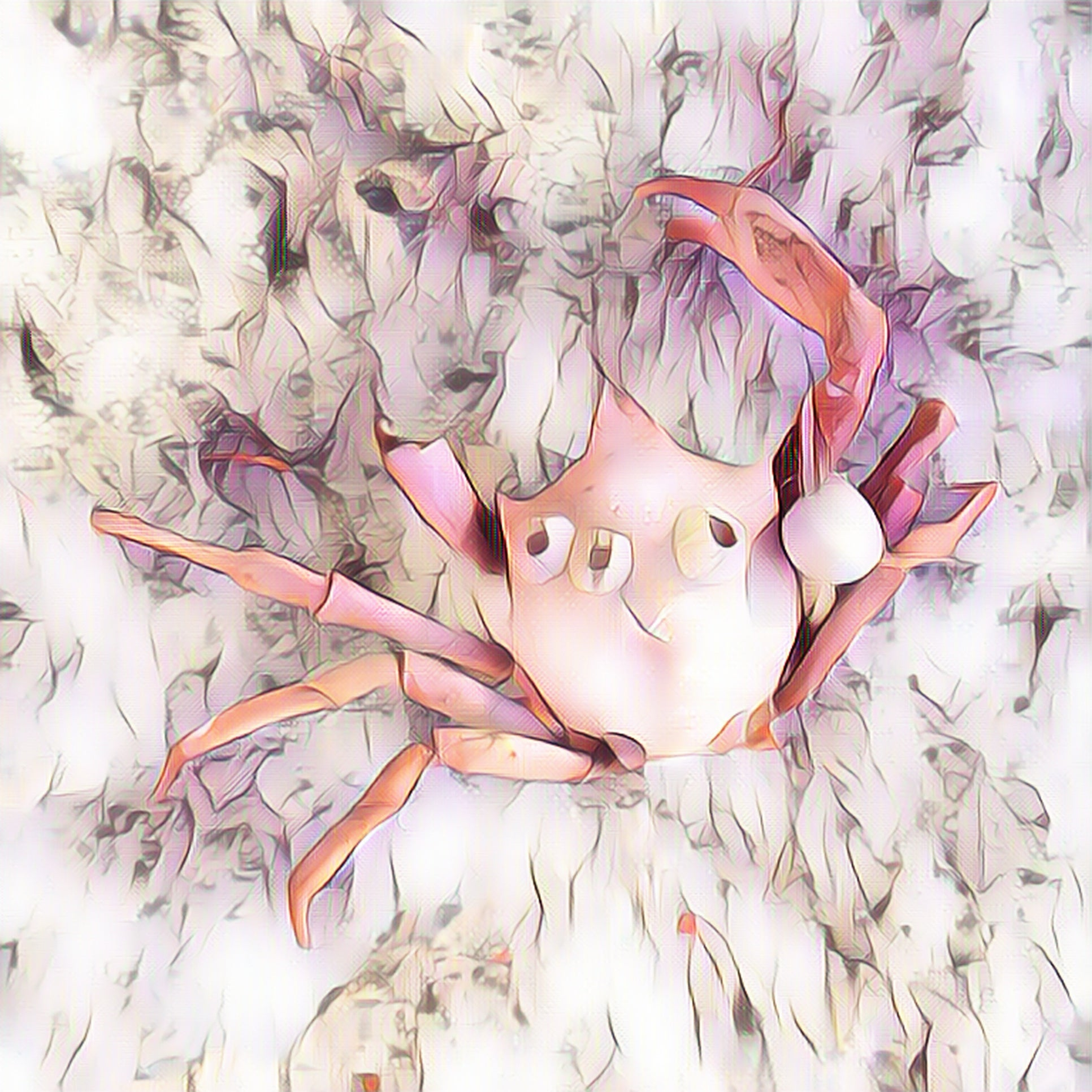 """Crabby"" Digital Art"