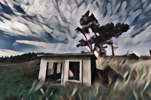 """Gate House"" Digital Art"