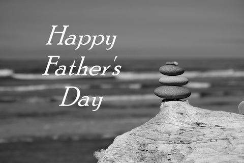 BW Father's Day Greeting Card