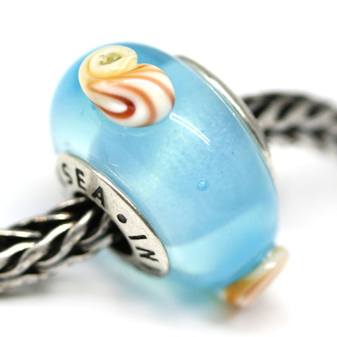 Seashell beach collection European bracelet beads for Pandora Troll