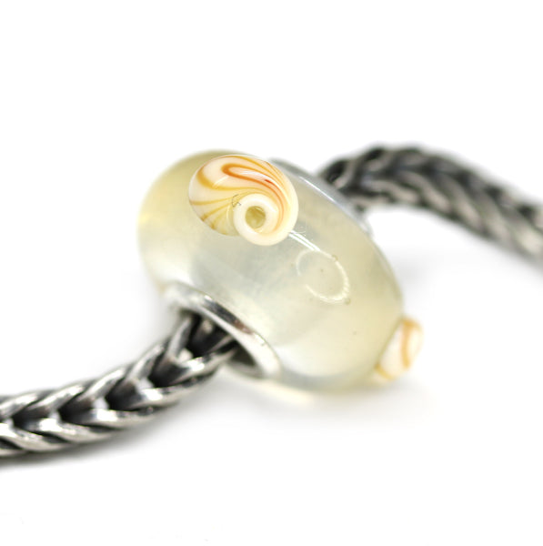 Seashell beach collection of European bracelet beads for Pandora Troll