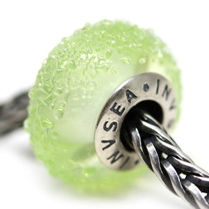 Seaweed green European bracelet charm beads for Pandora Troll