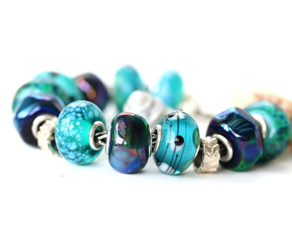 European style bracelet Murano glass jewelry by INVSea