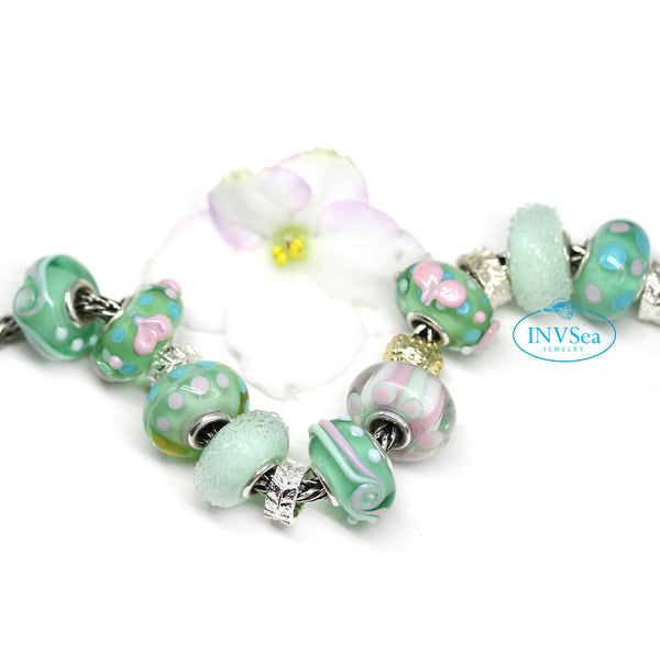 Promise of spring European style bead