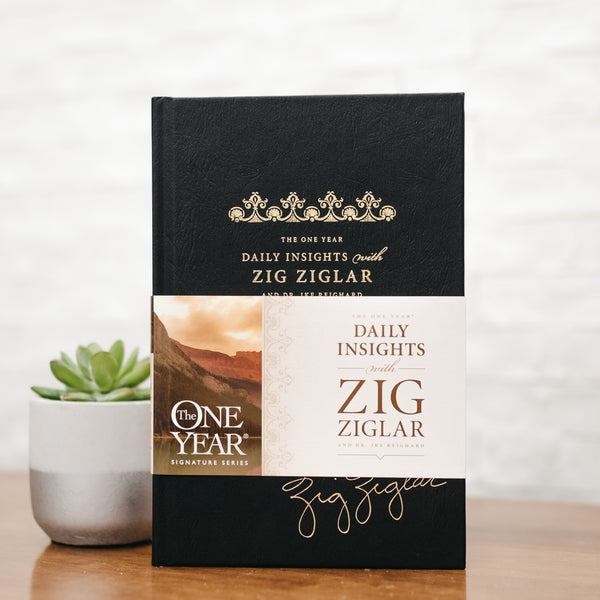 The One Year: Daily Insights Daily Devotional | Exclusive Hardcover Edition
