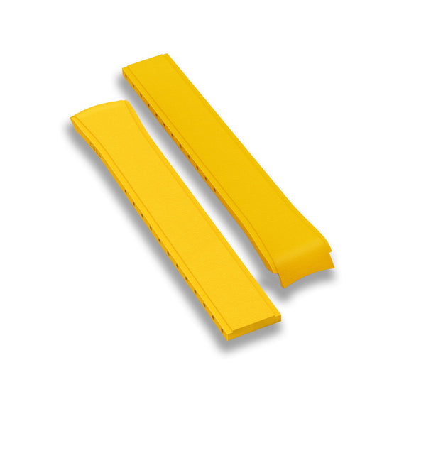 Rubber strap, Yellow