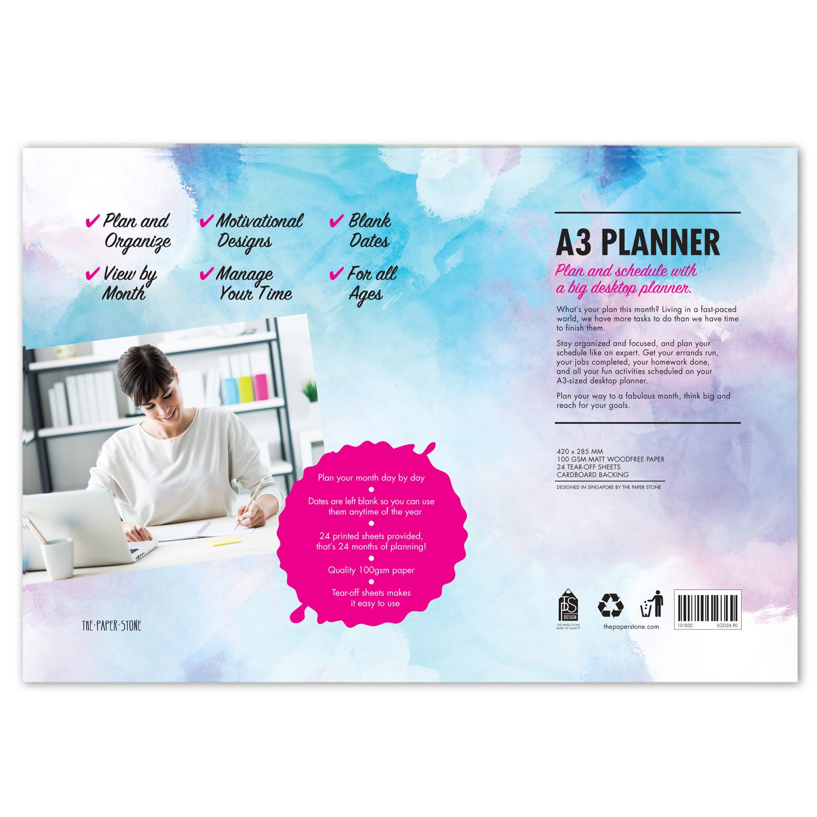 A3 Planner - Big Dream