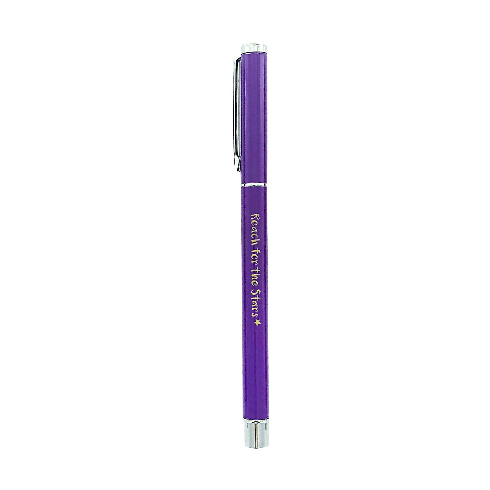 Metal Pen - Reach For The Stars - Purple