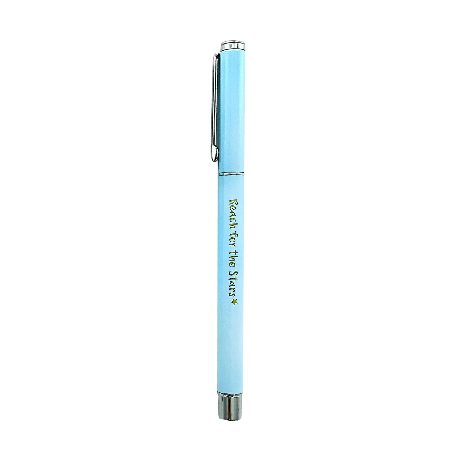 Metal Pen - Reach For The Stars - Light Blue