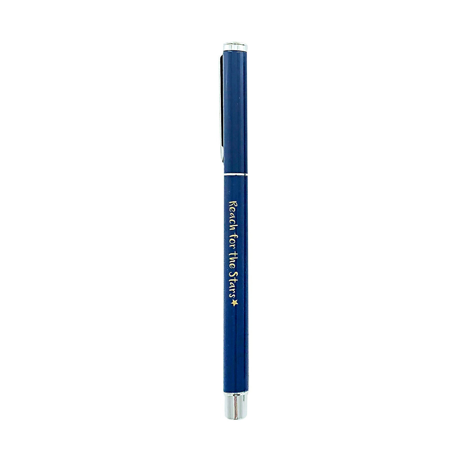 Metal Pen - Reach For The Stars - Navy Blue