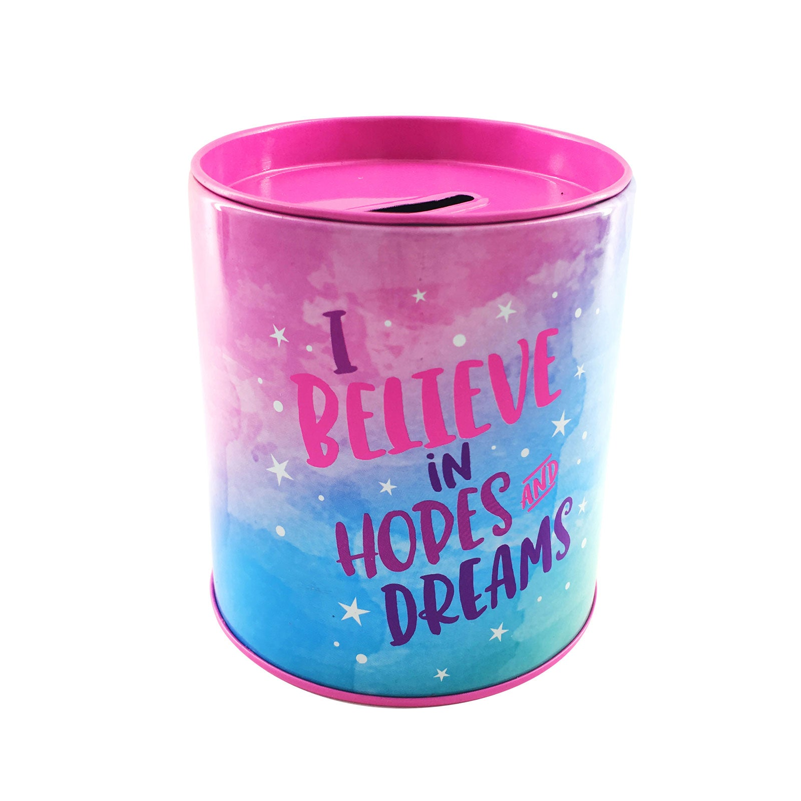 Savings Coin Tins - Believe in Hopes and Dreams