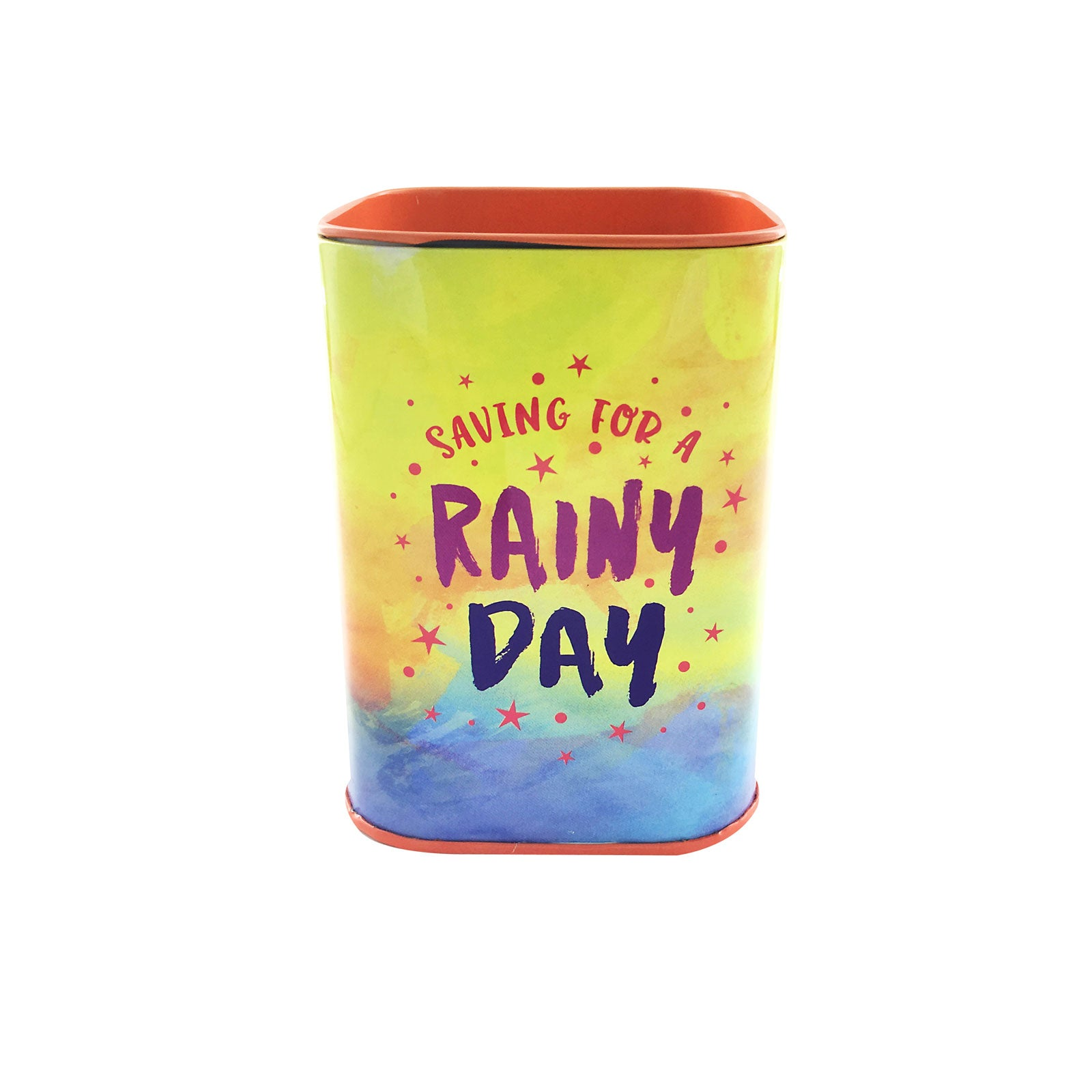 Savings Coin Tins - Saving For A Rainy Day