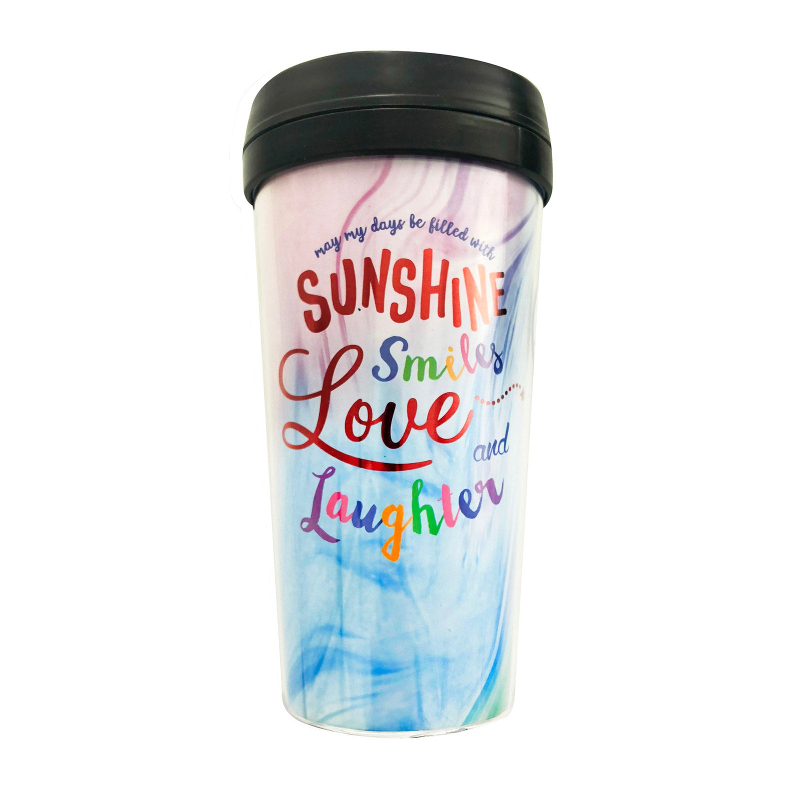 Tumbler - Sunshine Smiles Rainbow