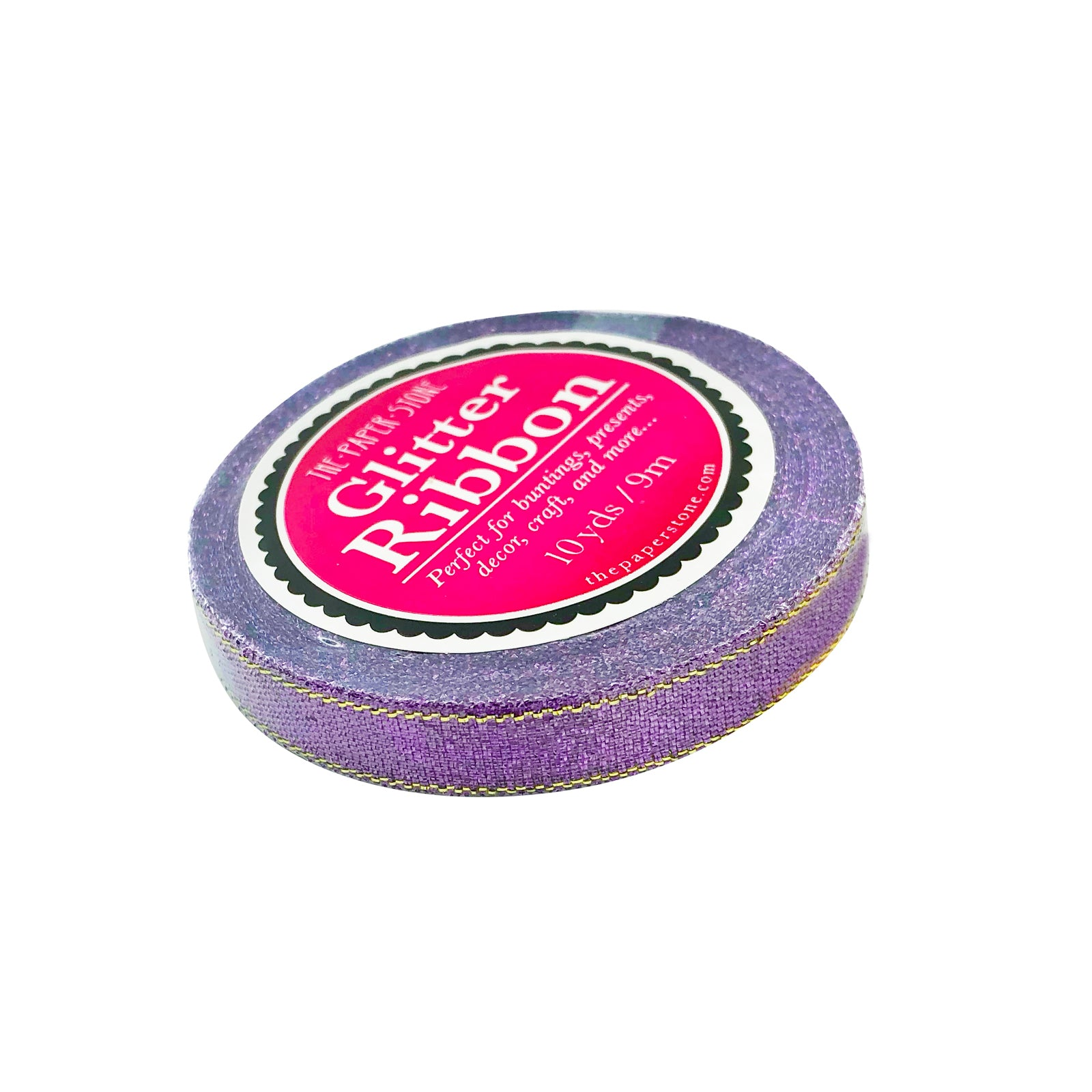 Glitter Ribbon - Purple
