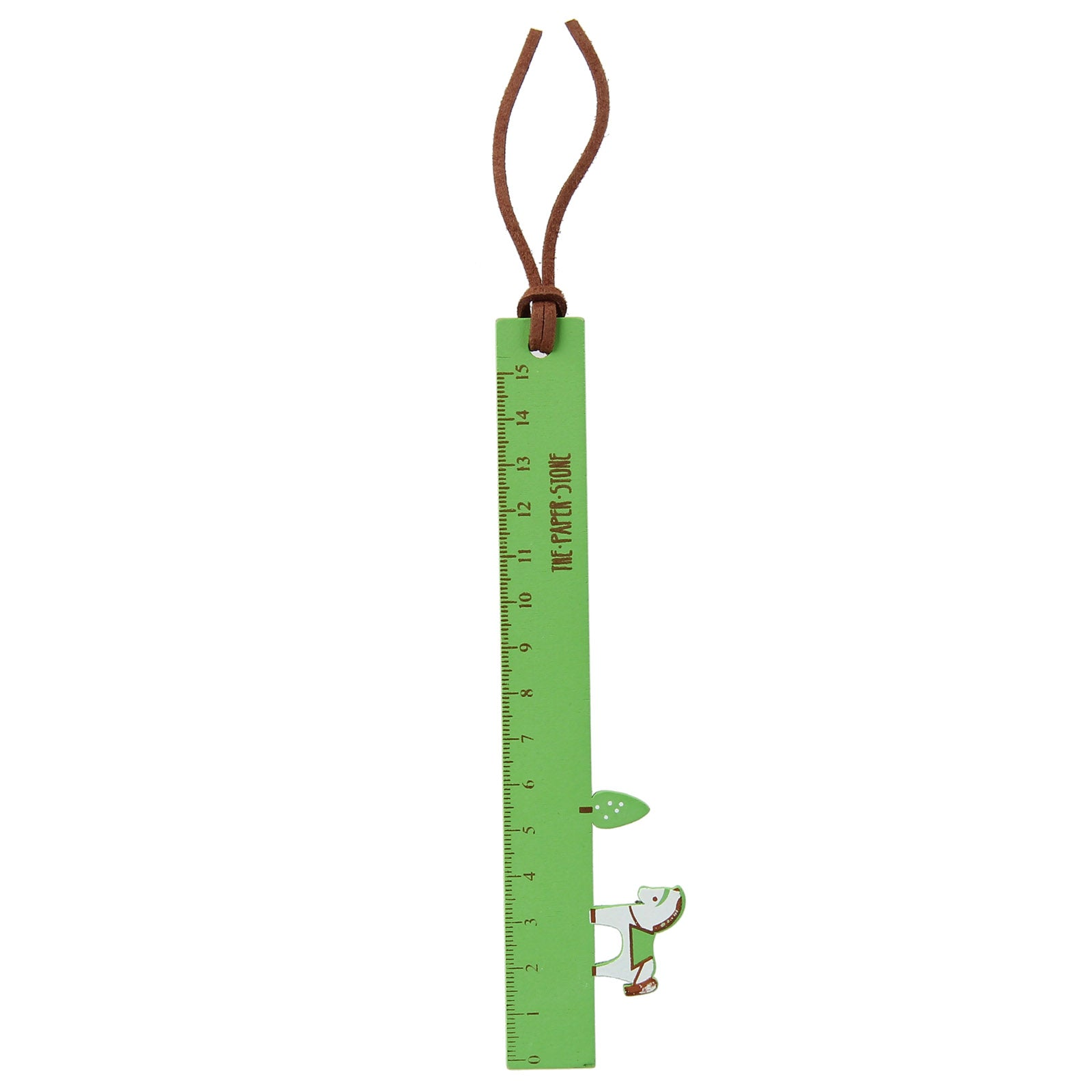 Little Wood Pony Ruler - Grass Green