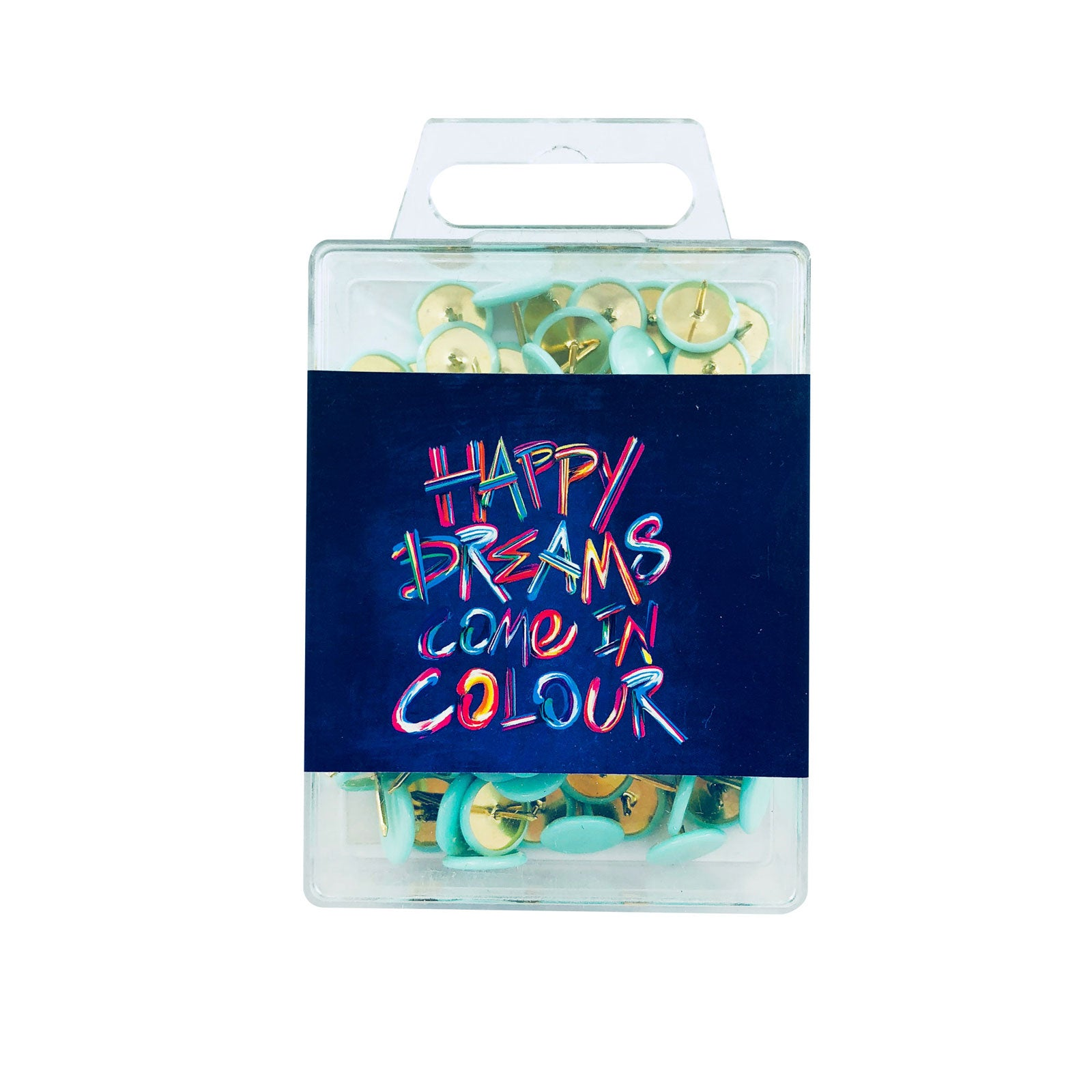 Inspirational Colour Pins - Happy Dreams
