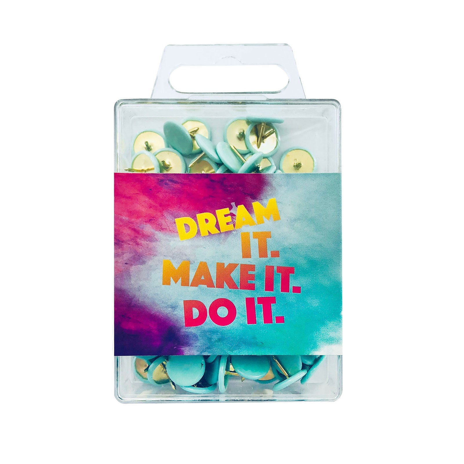 Inspirational Colour Pins - Dream It Make It