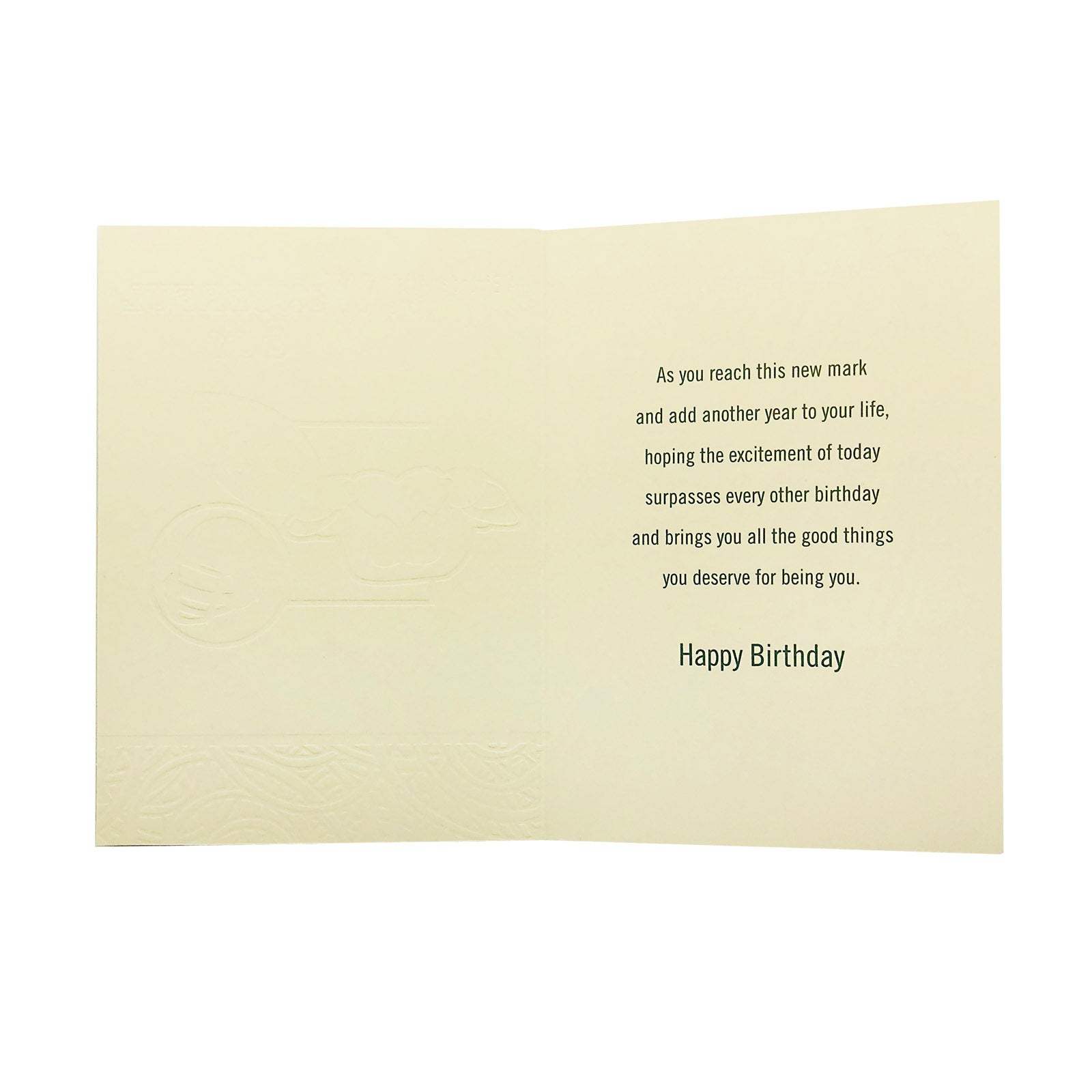 Designer Greetings Birthday Card - Birthday Wish For A Wonderful Guy