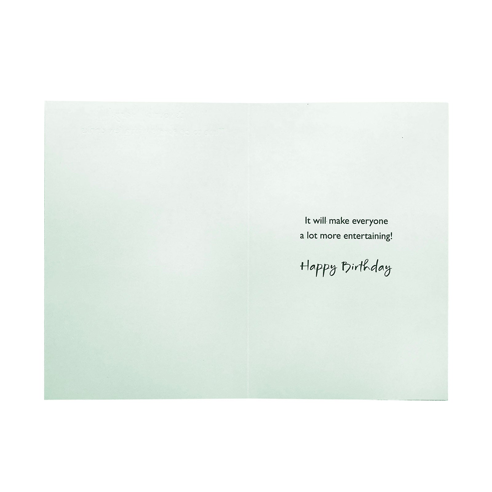 Designer Greetings Birthday Card - Celebrate With A Few Drinks - Party Goers
